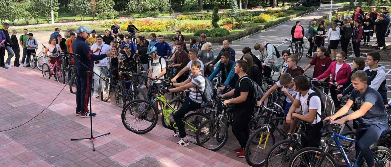 Велопробіг до Дня фізичної культури та спорту